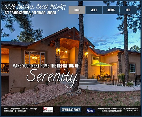 Luxury Property Website Sample